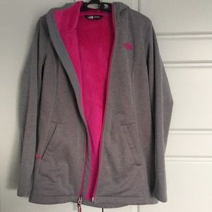 North Face Fleece Lined Sweater